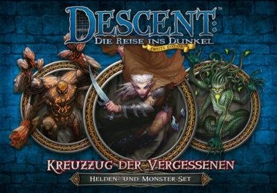 Cover Descent (Zweite Edition): Kreuzzug der Vergessenen