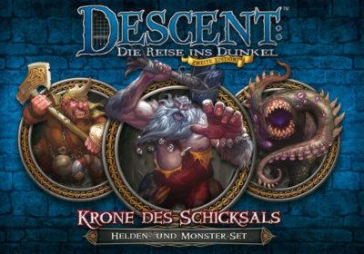 Cover Descent (Zweite Edition): Krone des Schicksals