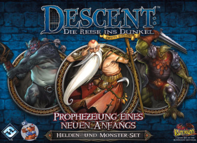 Cover Descent (Zweite Edition): Prophezeiung eines neuen Anfangs
