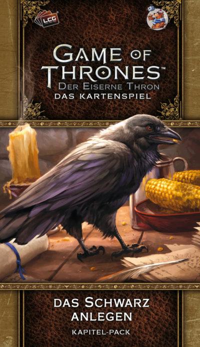 Der Eiserne Thron (Das Kartenspiel) / 2. Edition: Das Schwarz anlegen