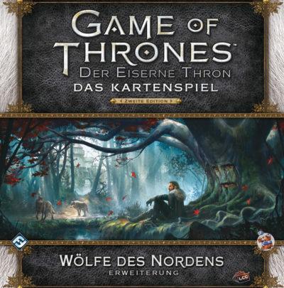 Der Eiserne Thron (Das Kartenspiel) / 2. Edition: Wölfe des Nordens