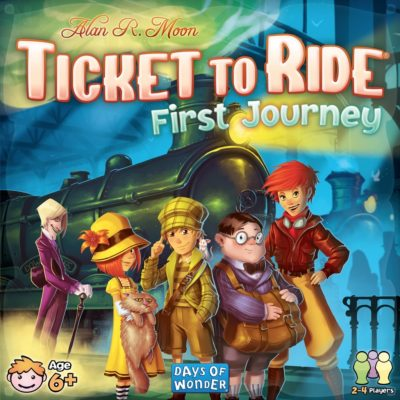 Cover Ticket to Ride: First Journey (US Version)