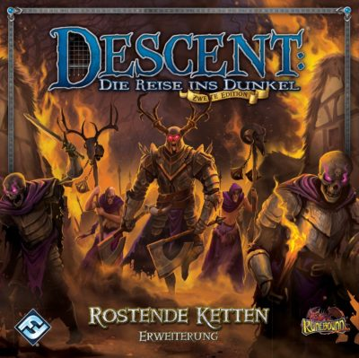 Cover Descent (Zweite Edition): Rostende Ketten