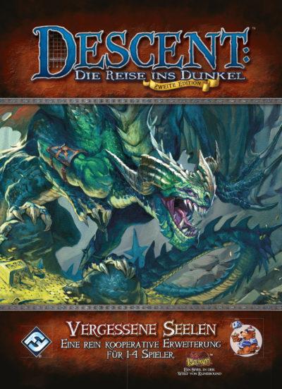 Cover Descent (Zweite Edition): Vergessene Seelen