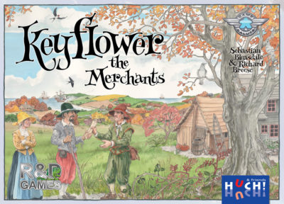 Cover Keyflower: The Merchants