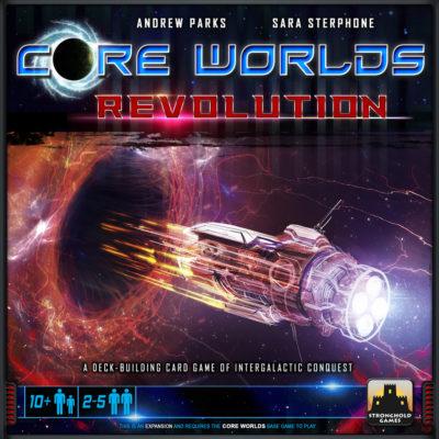 Cover Core Worlds: Revolution