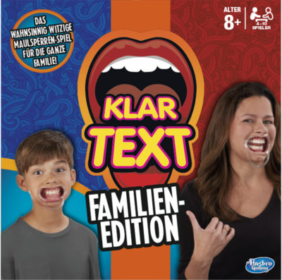 Cover Klartext: Familien-Edition