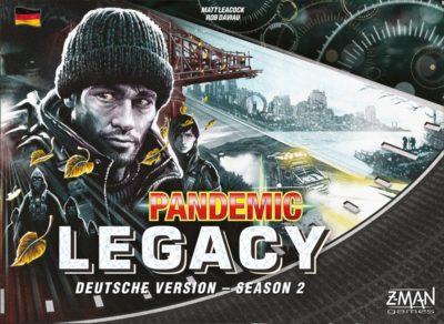 Pandemic Legacy: Season 2 / Schwarz