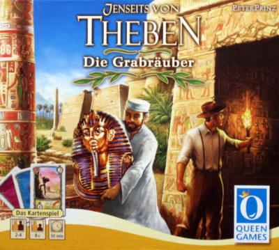 Jenseits von Theben: Das Kartenspiel