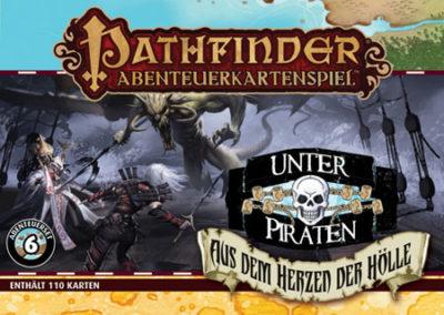 Pathfinder Abenteuerkartenspiel: Unter Piraten – Aus dem Herzen der Hölle