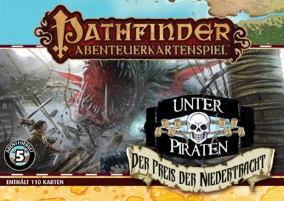 Pathfinder Abenteuerkartenspiel: Unter Piraten – Der Preis der Niedertracht