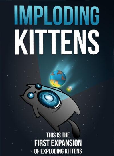 Cover Exploding Kittens: Imploding Kittens