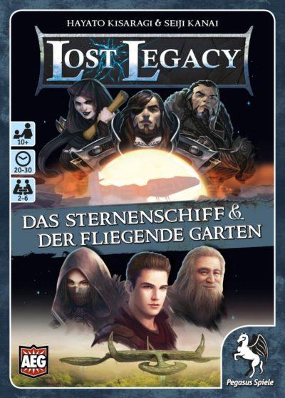 Cover Lost Legacy: Das Sternenschiff & der fliegende Garten