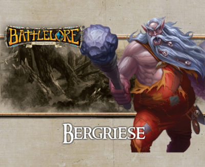 Cover Battlelore (2. Edition): Bergriese