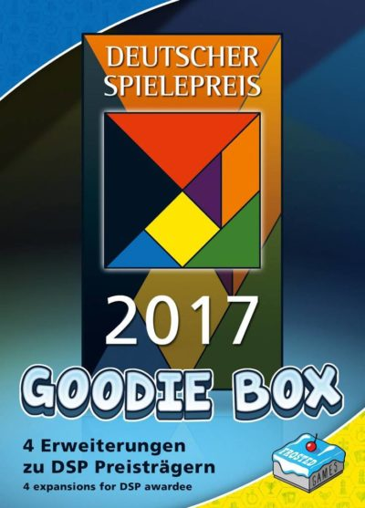 Cover Deutscher Spielepreis 2017 Goodie-Box