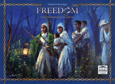 Cover Freedom: The Underground Railroad