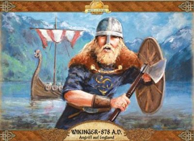 Cover Wikinger 878 A.D. – Angriff auf England