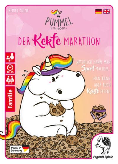 Cover Pummeleinhorn: Der Kekfe Marathon