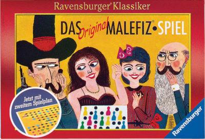 Cover Das Original Malefiz-Spiel