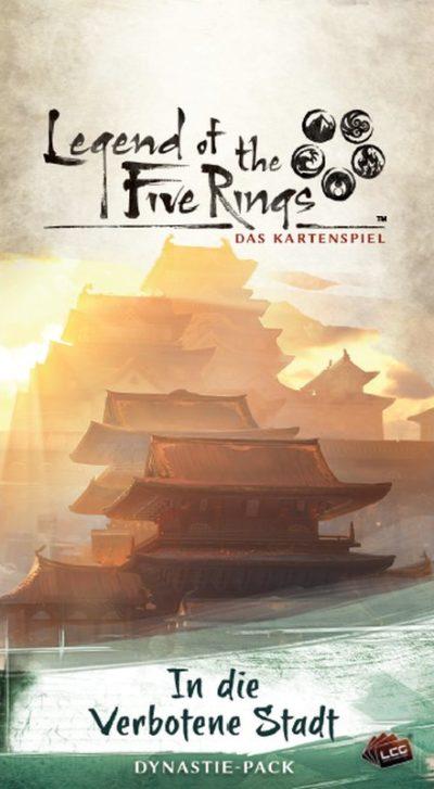 Cover Legend of the 5 Rings: In die verbotene Stadt