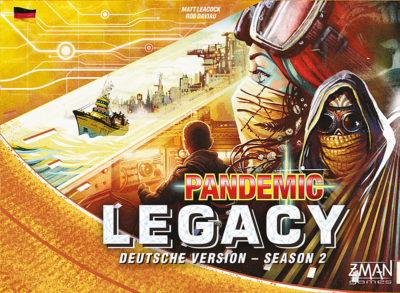 Pandemic Legacy: Season 2 / Gelb
