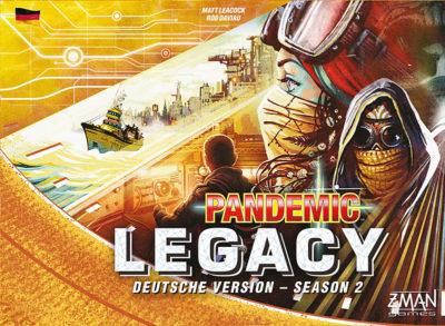 Cover Pandemic Legacy: Season 2 / Gelb