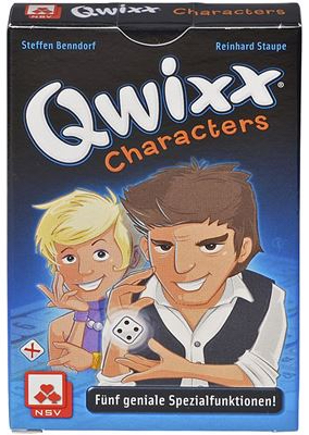 Qwixx: Characters