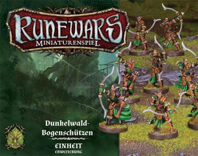 Runewars –Miniaturenspiel: Dunkelwald-Bogenschützen