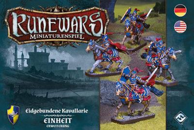 Runewars –Miniaturenspiel: Eidgebundene Kavallerie