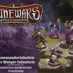 Runewars –Miniaturenspiel: Kommandoeinheiten der Waiqar-Infanterie