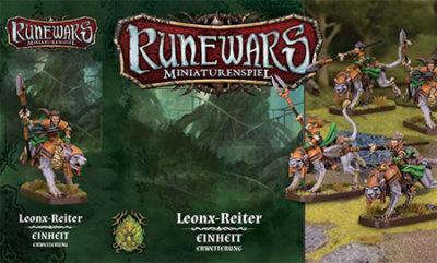 Runewars –Miniaturenspiel: Leonx-Reiter