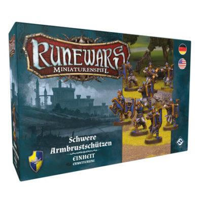 Runewars –Miniaturenspiel: Schwere Armbrustschützen
