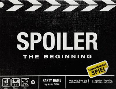 Spoiler: The Beginning