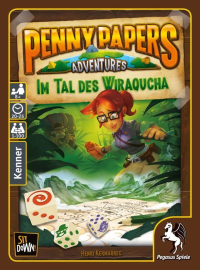 Penny Papers Adventures: Im Tal des Wiraqucha