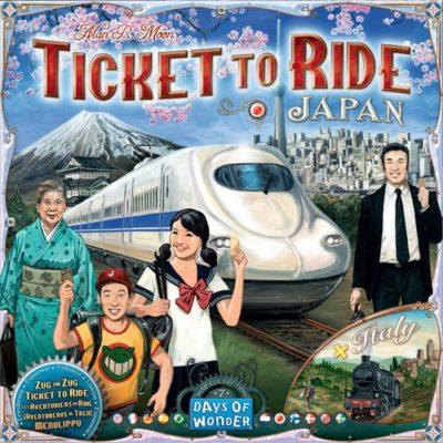 Zug um Zug: Japan & Italien