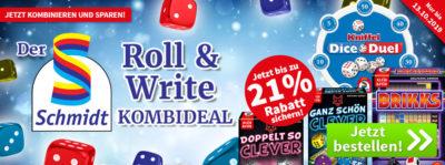 Schmidt Roll & Write Kombi