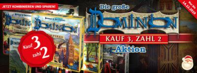 Dominion: Kauf 3, zahl 2!