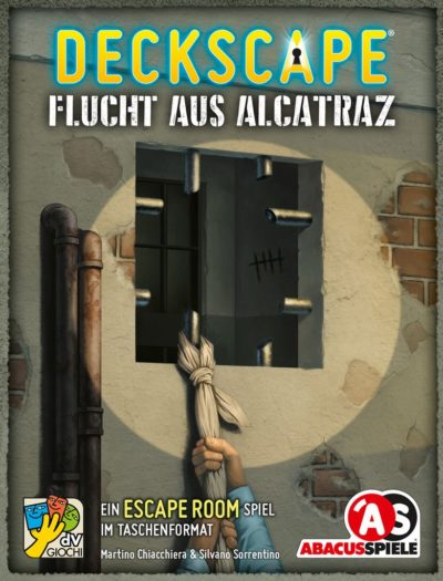 Deckscape: Flucht aus Alcatraz