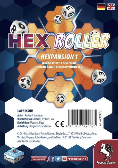 HexRoller: Hexpansion 1