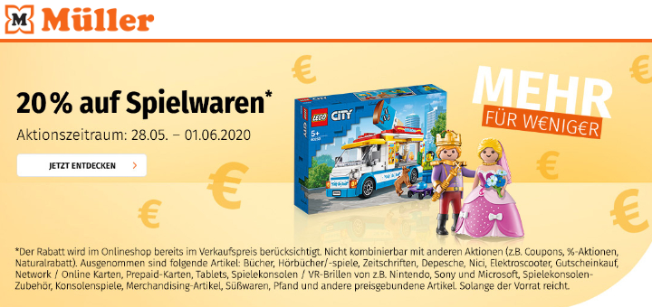 Drogeriemarkt Müller Spielwaren