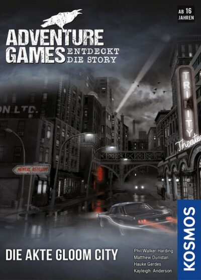 Adventure Games: Die Akte Gloom City