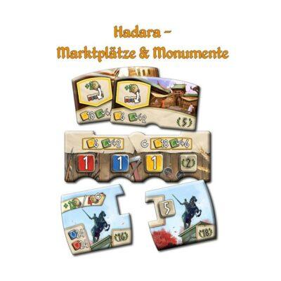 Hadara: Marktplätze & Monumente