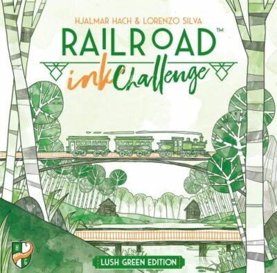 Railroad Ink Challenge / Blattgrün