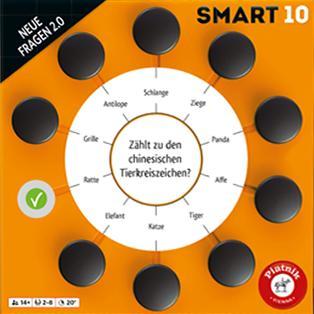 Smart 10: Neue Fragen 2.0