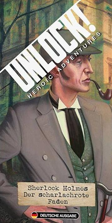 Unlock!: Heroic Adventures – Sherlock Holmes: Der scharlachrote Faden
