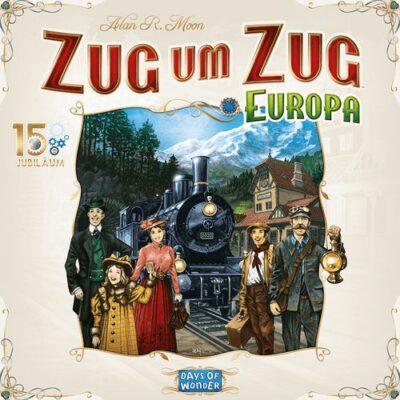 Zug um Zug: Europa – 15 Jahre Jubiläum